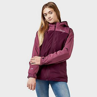 New Berghaus Girls' Grasholm 3 In 1 Jacket Purple