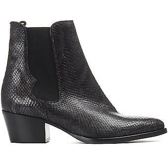 Jones Bootmaker Femmes Western Snake Print Boots