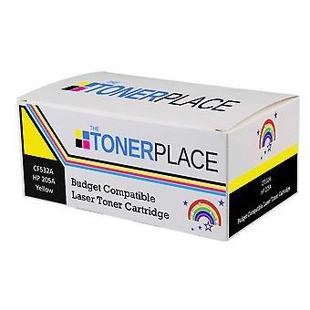 Budgetkompatibler HP 205A CF532A Gelber Toner