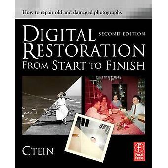 Restauración digital de principio a fin - Cómo reparar Old y Damag