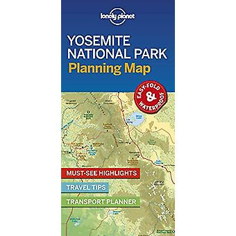 Lonely Planet Yosemite National Park Planning Map by Lonely Planet -