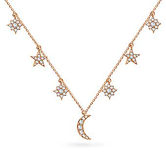 Necklace Arabian Nights 18K Gold and Diamonds - Rose Gold