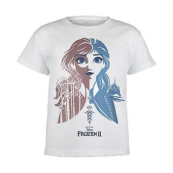 Disney Frosne 2 Prinsesse Anna Piger T-shirt | Officielle Merchandise