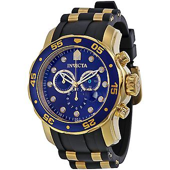 Invicta Men's Pro Diver 17882  Stainless Steel, Polyurethane Chronograph Watch