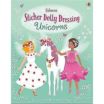 Adesivo Dolly Vestindo Unicórnios por Fiona Watt - 9781474967822 Livro
