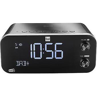 Dual DAB CR 30 Black Bird Radio alarm clock DAB+, FM USB Battery charger Black