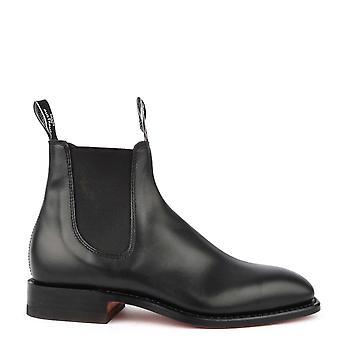 R.M. Williams Classic Craftsman Black Chelsea Boots