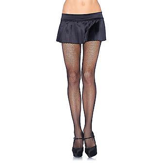 Plus Size Stretchy Black Spandex Fishnet Pantyhose Tights