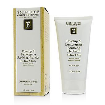 Eminence rozenbottels & citroengras rustgevende Hydrator voor gezicht & lichaam 147ml / 5oz