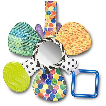 Rainbow Designs The Very Hungry Caterpillar Mirror Teether Rattle