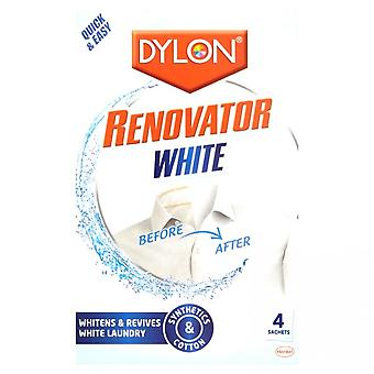Dylon Renovator White Laundry Powder (4 Sachets)