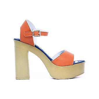 U.S. Polo - Schoenen - Sandaal - FAYE4026S8-Y1-ORA - Dames - oranje,tan - 40