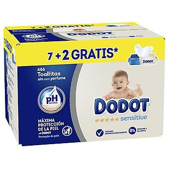 Dodot Sensitive Baby Wipes 486 Units (Baby & Toddler , Diapering , Baby Wipes)