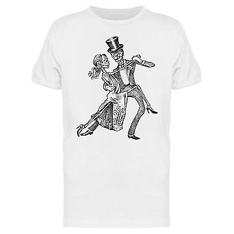 Dancing Skeletons Tee Men's -Image by Shutterstock