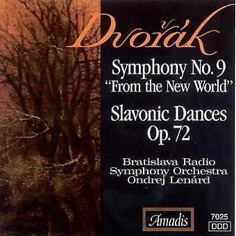 A. Dvorak - Dvor K: Symfonie nr. 9 (uit de nieuwe wereld); Slavische dansen, Op. 72 [CD] USA import