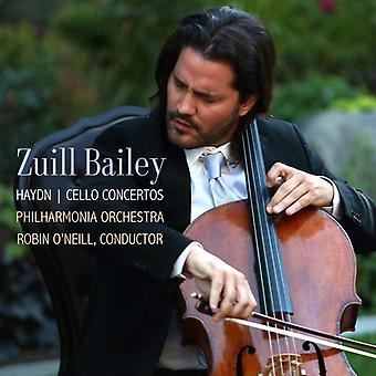 Haydn / Bailey - Cello Concertos 1 & 2 [CD] USA import