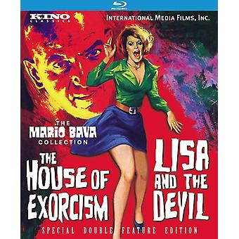 Lisa & the Devil/House of Exorcism [BLU-RAY] USA import