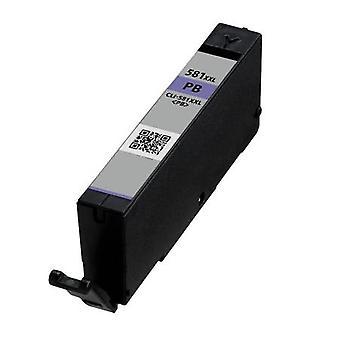 RudyTwos zamiennik Canon CLI-581PBXXL atrament kasety PhotoBlue zgodne z Pixma iP4850, iP4950, iX6550, MG5150 MG5250, MG5300, MG5320, MG6150, MG6250, MG6220, MG8170, MG8150, MG8220, MG8250