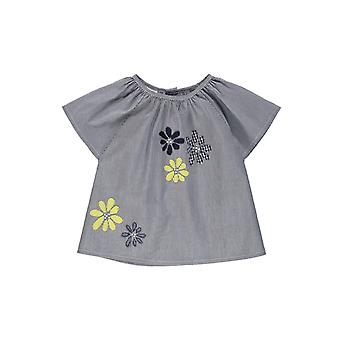 Brums Milano Striped Shirt With Flowers