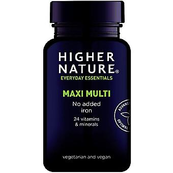 Higher Nature Maxi Multi Vegetable Tablets 90 (MUL090)