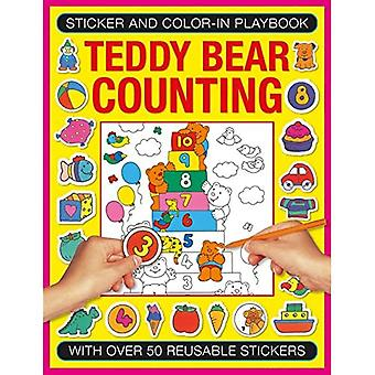 Sticker and Colour-in Playbook: Teddy Bear Counting: With Over 50 Reusable Stickers (Sticker and Color-in Playbook)
