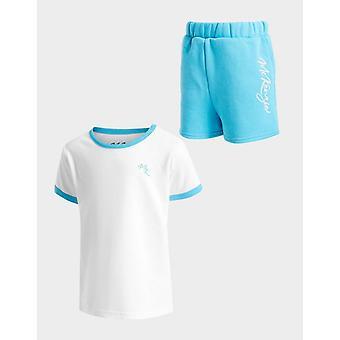 New Mckenzie Girls' Kendall T-Shirt/Shorts Set Blue
