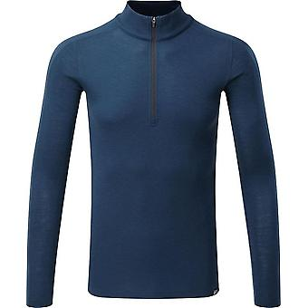 North Ridge Men's Convect-200 Merino Long Sleeve Top Blue