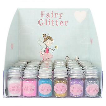 Something Different Fairy Glitter Bottles (Box Of 36)