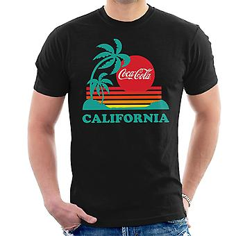Coca Cola California Sunset Men's T-Shirt