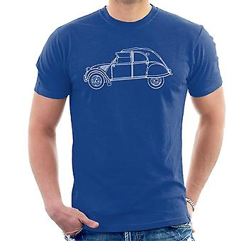 Citro�n Vintage 2CV Art Men's T-Shirt