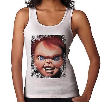 Chucky Face Close Up Women's Vest