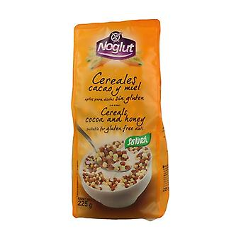 Glutenfri kakao og honning frokostblandinger 250 g (Honning - Kakao)