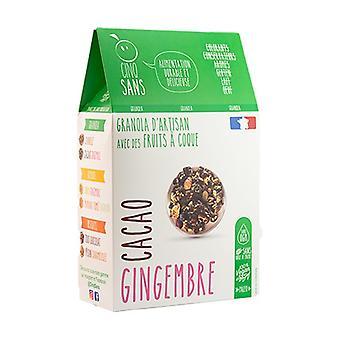 Økologisk ingefær kakao granola 300 g