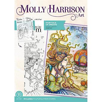 Crafter's Companion Photopolymer Stamps By Molly Harrison - Fairytale Of Dreams