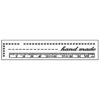 Stamperia المطاط الطبيعي الطوابع اليد