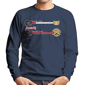 Aggretsuko Retsuko 100 Pour cent Rage Men-apos;s Sweatshirt