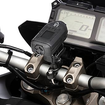Solid metal motorcycle action camera mount for drift cameras