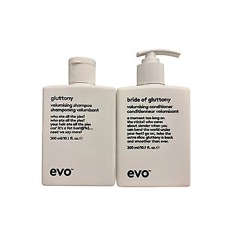 evo Gulzigheid Volumising Shampoo & Conditioner Set 10.1 OZ Elk