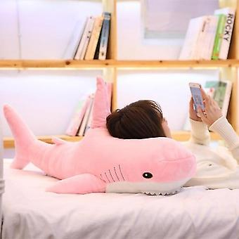 140cm Giant Shark Plush Toy - Soft Stuffed Speelgoed Animal for Birthday Gifts Cushion  Doll Gift For Children