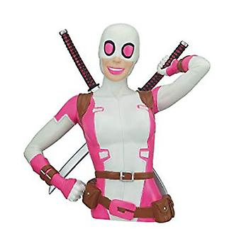 Coin Bank - Marvel - Gwenpool Bust Bank New 68819