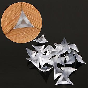 مسح الاكريليك، مثلث على شكل المقابس المضادة للغبار للأثاث / مجلس الوزراء / درج