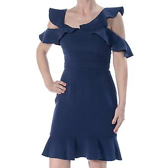Rachel Zoe | Delia Ruffled Cold-Shoulder Dress