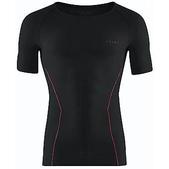 T-shirt chaud à manches courtes Falke - Fuego noir