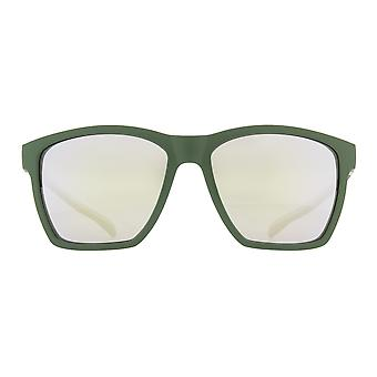 Red Bull Spect Filp Sunglasses - Olive Green