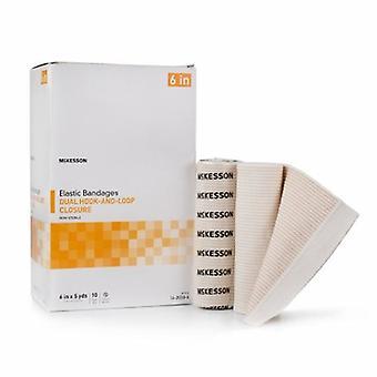 McKesson Elastic Bandage, 6 Inch X 5 Yard, 10 Tellen