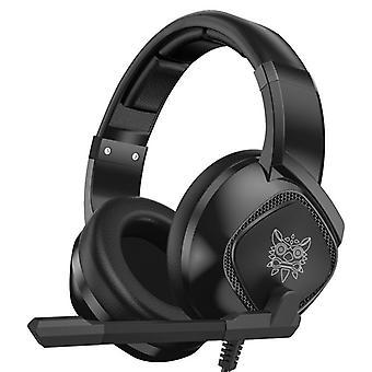 ONIKUMA K19 RGB LED Light Gaming Headphone Stereo Noise Reduction Wired Earphone