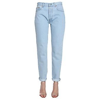Forte Couture Fcfw1842 Women's Light Blue Cotton Jeans