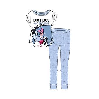 Women's Winnie the Pooh Eeyore y Piglet Big Hugs Pyjama Set
