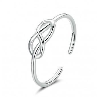 Sterling Silber Ring Unendlichkeit - 6867