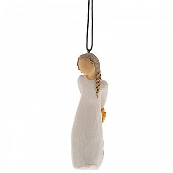 Willow Tree Forget Me Not Hanging Ornament